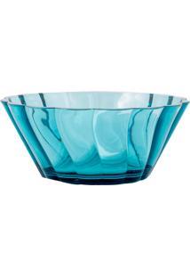 Saladeira Acrílico Azul