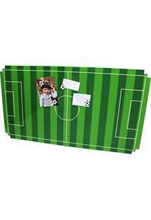 Quadro Mural Painel Para Fotos Com 6 Ímas Futebol Píxel