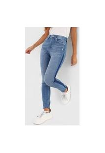 Calça Jeans Gap Jegging Estonada Azul