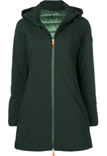 Save The Duck Hooded Jacket - Green