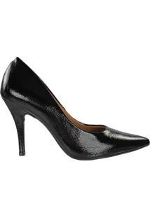 Sapato Vizzano Scarpin Feminino Verniz Preto - 35
