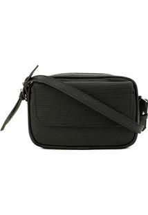 Bolsa Anacapri Eco Mini Bag Transversal Feminina - Feminino-Preto