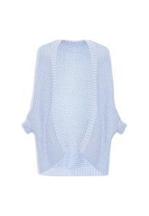 Casaco Feminino Tricot - Azul