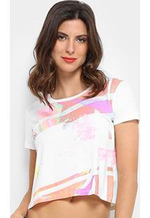 Camiseta Calvin Klein Estampada Inspiration Feminina - Feminino