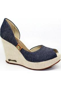 Sapato Barth Shoes Noite - Feminino-Azul