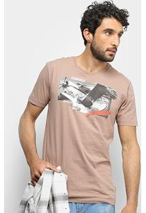 Camiseta Forum Fly Masculina - Masculino-Marrom