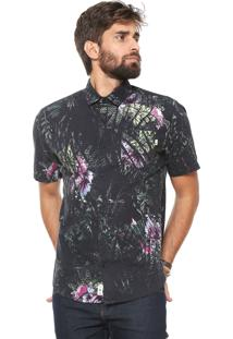 Camisa Timberland Florest Preto