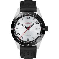 55749d90270 Relógio Montblanc Masculino Couro Preto - 116058