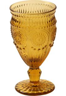 Taça Vinho Branco Rome Âmbar