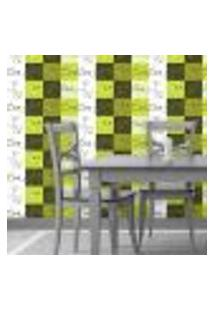 Papel De Parede Autocolante Rolo 0,58 X 3M - Azulejo Xicara 70053