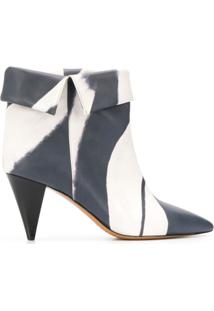 Isabel Marant Ankle Boot Ladele - Branco