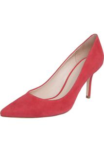 Scarpin Animale Midi Color Society Coral