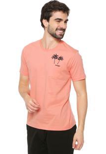 Camiseta Wrangler Bolso Laranja