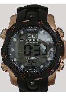 059c61c8491 CEA. Speedo Relógio - Único 11005g0evnp2 Digital Masculino Preto