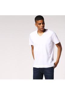 Camiseta Diesel T-Eric Masculina - Masculino-Branco