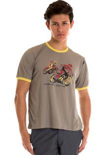 Camisa Konciny Decote Redondo Cinza