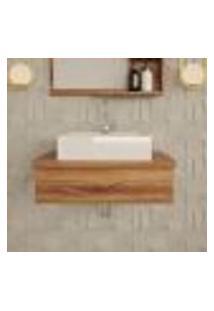 Gabinete De Banheiro Place Ii Nogal