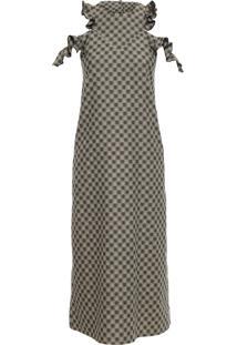Vestido Tubo Baggy - Marrom