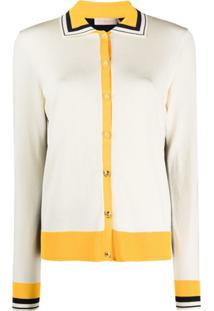 Tory Burch Cardigan Color Block - Neutro