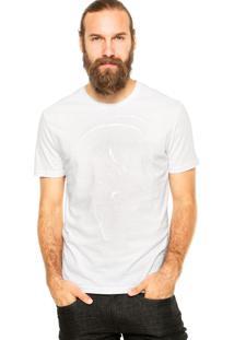 Camiseta Calvin Klein Jeans Clássica Branca