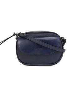 Bolsa Anacapri Mini Bag Pqn Eco Vene Feminina - Feminino-Marinho