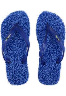 Sandália Masculina Plus Tradicional Cleanup - Azul