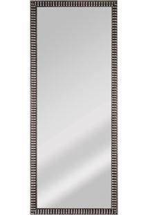 Espelho De Parede Retangular Coral 70 25X67Cm Prata