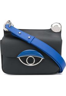 Kenzo Bolsa Tiracolo Eye Pequena - Preto