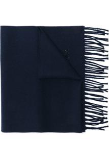 Fendi Echarpe 'Bag Bugs' - Azul