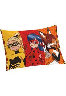 Fronha Ladybugâ®- Vermelha & Amarela- 70X50Cm- Lelepper