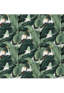 Papel De Parede Stickdecor Adesivo Bananeira Beverly Hills 100Cm L X 300Cm A - Verde - Dafiti