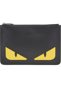 Fendi Clutch 'Bag Bugs' - Preto