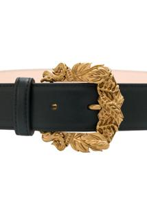 Versace Cinto De Couro - Preto