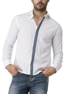 Camisa R.Mendes Cannes Off White