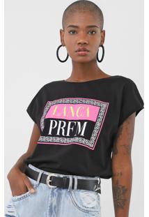 Camiseta Lança Perfume Logo Preta