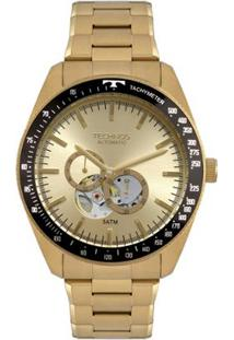 ... Relógio Technos Masculino Automatico - 82S7Ab 4X 82S7Ab 4X - Masculino -Dourado 6a1a96b2bc