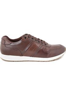 Sapatenis Masculino Milano Brown/Brown 10023