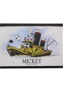 Quadro Mickey Barco A Vapor
