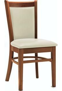 Cadeira Com Assento Estofado 5566-Monte Carlo - Pinhao