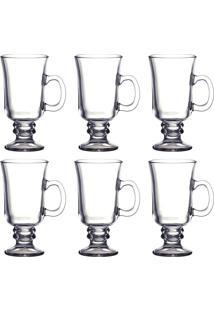 Conjunto Com 6 Xícaras Para Café Dynasty Incolor 285Ml