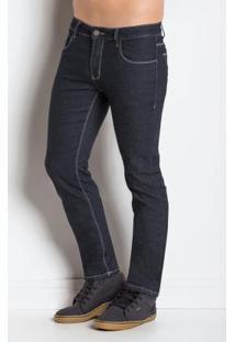 Calça Jeans Sawary Azul Escuro