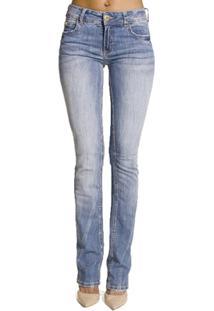 b028a0164 ... Calça Jeans Fatima Reta Extreme Power Colcci - Feminino-Azul