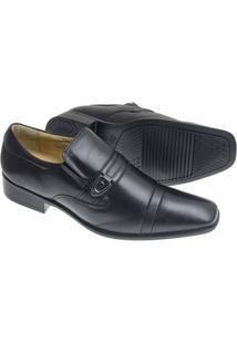 Sapato Social Sândalo Vermont Masculino - Masculino-Preto