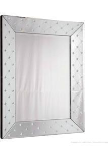 Espelho Decorativo Estrela Prata - Antonio E Filhos