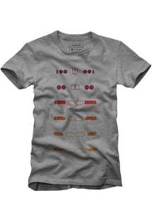 Camiseta Reserva Bmw Masculina - Masculino-Cinza