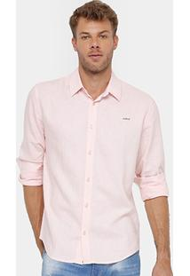 Camisa Colcci Bordado Masculina - Masculino