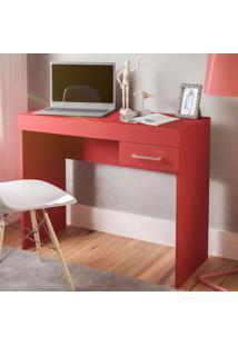 Escrivaninha Cooler 1 Gaveta Vermelho - Artely
