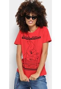 8246012af3 Camiseta Coca Cola Listras feminina