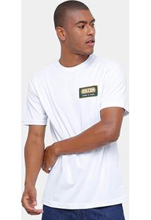 Camiseta Volcom Silk Shop Masculina - Masculino