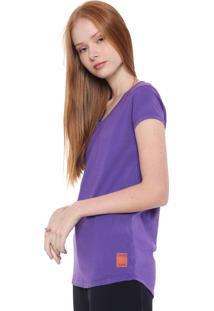 Camiseta Calvin Klein Jeans Lisa Roxa